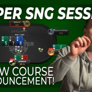 Have A Plan To Overtake The Chiplead in SnG's! | Bencb Twitch Poker Highlights