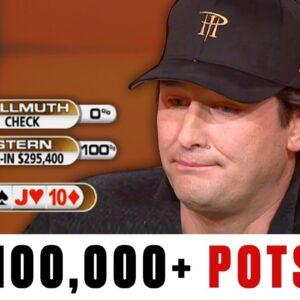 BIGGEST Pots: $436K?! ♠️ Best of The Big Game ♠️ PokerStars