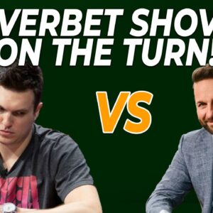Doug Polk OVERBET Shoving The Turn, WILL IT WORK?! | Bencb Reviews The Heads-Up!