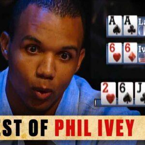 Phil Ivey's BEST Old School POKER MOMENTS ♠️ Best Poker Moments Retro ♠️ PokerStars