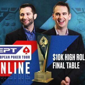 EPT Online High Roller Final Table - $251k for 1st! ♠️ James Hartigan & Joe Stapes ♠️ PokerStars