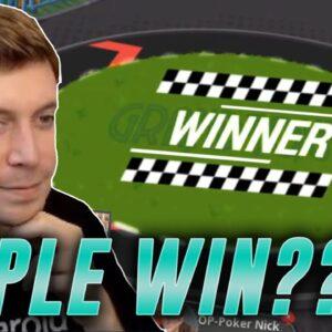 CAN NICK GET A TRIPLE WIN??? PokerStars Grand Tour