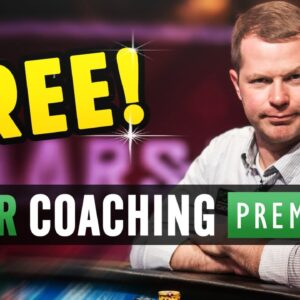 FREE PokerCoaching PREMIUM Membership!