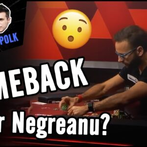 NEGREANU vs POLK | COMEBACK for Negreanu? in the High Stakes Feud