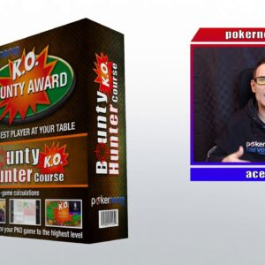 PokerNerve's Bounty Hunter Course Walkthrough - Get 25% off!
