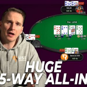 SLAYING High Stakes SnG's | Bencb Twitch Poker Highlights
