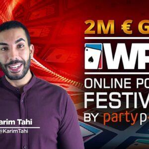 Update WPT Online Poker Festival