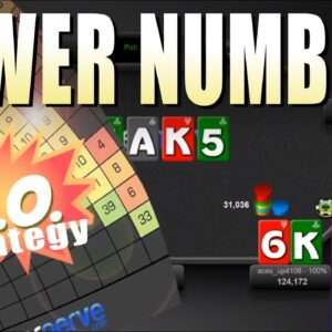 Using Power Numbers to isolate in a progressive knockout tournament