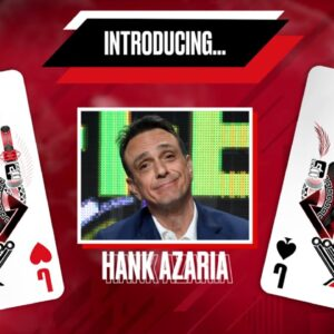 POKER IN THE EARS PODCAST  EPISODE 202, WITH HANK AZARIA ♠️ PokerStars UK