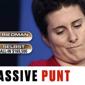 Vanessa Selbst BLOWS UP and loses $340K pot ♠️ Best of The Big Game ♠️ PokerStars UK