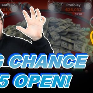 BIG CHANCE $125 IN THE OPEN! | Pokerstaples Stream Highlights