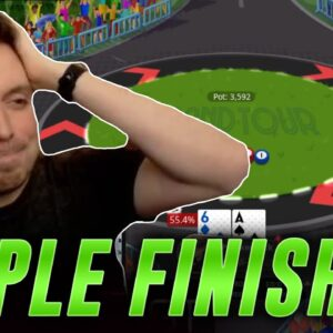 CAN NICK FINALLY GET A TRIPLE FINISH??? PokerStars Grand Tour
