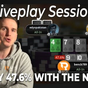 FLIPPING WITH THE NUTS?! | Bencb High Stakes Poker Live Play Session