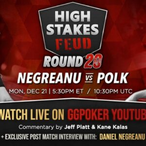 High Stakes Feud | Negreanu vs Polk | Round 20 | Exclusive Interview with DNegs