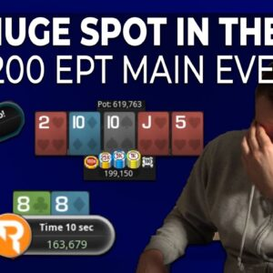 SHOULD I REALLY CALL THIS?! | Bencb Twitch Highlights EPT Online Main Event!