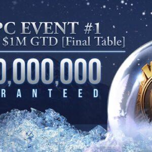 Poker On-Live l WSOPC #1: BIG $50, $1M GTD l With Jeff Platt & Brent Hanks