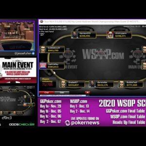 WSOP.com $10k Main Event Day 1 - MARIA HO, JCARVER!!!
