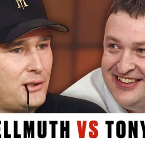 Tony G DESTROYS Phil Hellmuth ♠️ Best of The Big Game ♠️ PokerStars UK