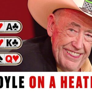 Doyle Brunson  dealt KK-QQ-AA crazy amount of times ♠️ Best of The Big Game ♠️ PokerStars UK