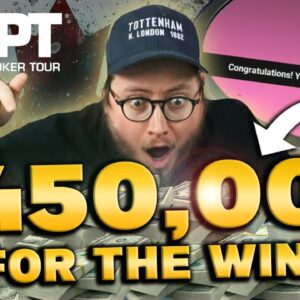 $3,200 WPT MAIN EVENT FOR $450K | Sunday Session Highlight Part 2