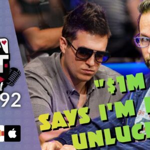 Heads Up Feud: DNegs Offers $1M He Runs Worse - DATPoker Podcast Episode #92