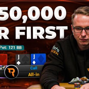 FINAL TABLE $25,000 WPT MONTREAL SUPER HIGH ROLLER WITH BENCB!