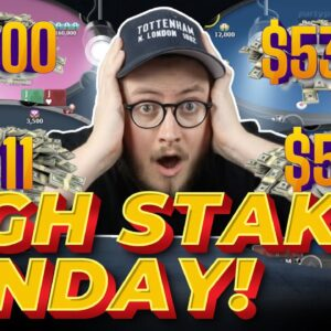 HIGH STAKES SUNDAY SESSION ON PARTYPOKER | Pokerstaples Stream Highlights