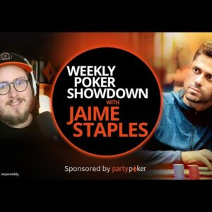 Benjamin Pollak | Weekly Poker Showdown S2 Ep1 | PokerStaples partypoker Podcast