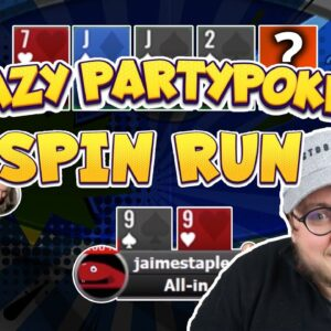 INSANE SPINS RUN! | PartyPoker Spins Challenge #30