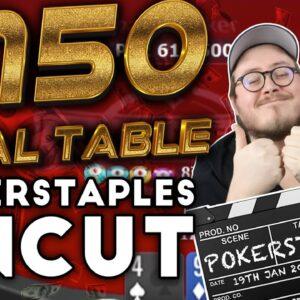 THE $150 KNOCKOUT FULL RUN| Pokerstaples Uncut Poker