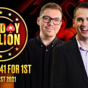$109 Sunday Million 1M Gtd - Day 2 ♠️ James Hartigan & Nick Walsh ♠️ PokerStars UK
