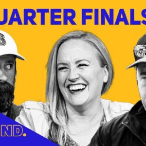 The Big Blind Poker Game Show | Dramatic Quarterfinals with Chris Moneymaker