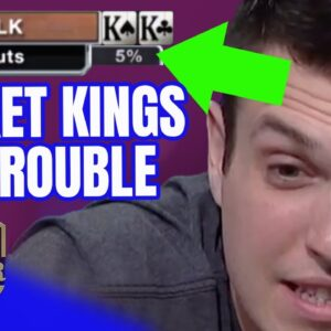 Doug Polk All in with KINGS for $255,400!
