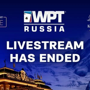 🔴LIVE: Final Table - WPT Russia Main Event!