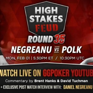 High Stakes Feud | Negreanu vs Polk | Round 35 | Exclusive Interview with DNegs
