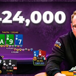 INSANE ALL-IN FOR $424,000 ON FINAL TABLE $10K Millions!