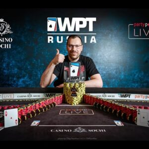 Interview with Artur Martirosyan at WPT Russia