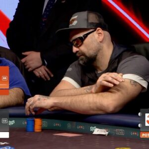 Poker Breakdown: Did This Massive Tell Cost This Guy Millions of Chips?