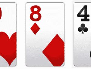 poker hand rankings high card