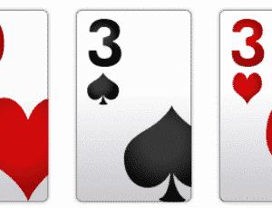 poker hand rankings two pair