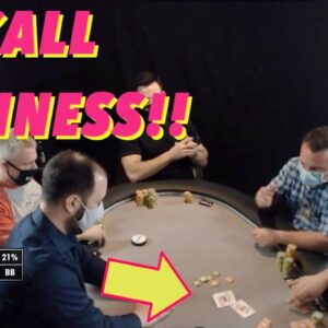 Poker Time Cash Game: Is this the World's Fastest Fold with Pocket Jacks???