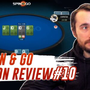 SPIN & GO Session Review No. 10! Spin & Go Strategy