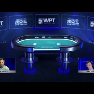 Final Table Replay: WPT Spring Festival Sponsored by Poker King - ¥1,750,000  (~$270,305) to Winner!