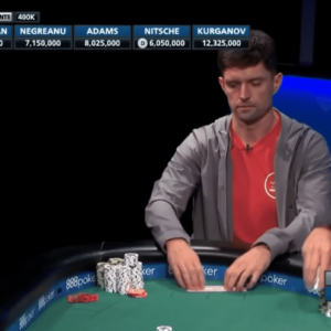 top pro plays pocket queens passively with 2 7 million on the line