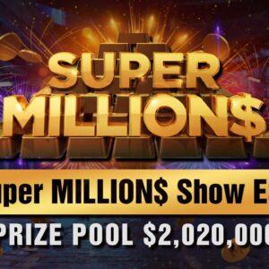Super MILLION$ | E36 | $2,020,000 GTD | w Damian Salas, Adrian Mateos & Darren Elias