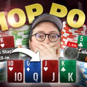 WHY CAN'T WE CHOP WHEN I'M BEHIND!? | PokerStaples Stream Highlights