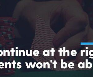 folding correctly in poker