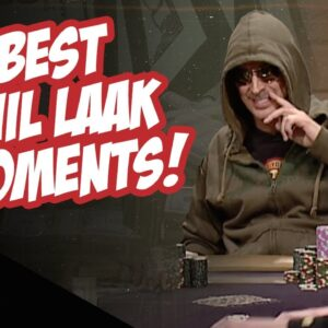 High Stakes Poker Best Phil Laak Moments!