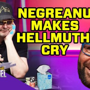 Daniel Negreanu Makes Phil Hellmuth Cry on High Stakes Duel