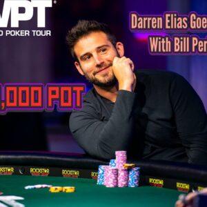 Darren Elias Versus Bill Perkins in a $200,000 Pot! | World Poker Tour